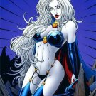 BRIAN PULIDO'S LADY DEATH: QUEEN OF THE DEAD #1 D    VF/NM (2007)