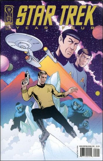 STAR TREK YEAR FOUR #2-A  VF/NM   IDW