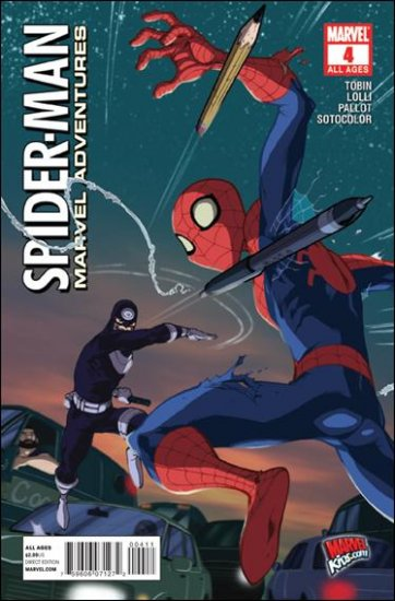 MARVEL ADVENTURES SPIDER-MAN #4 NM (2010)