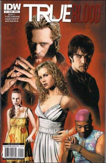 TRUE BLOOD #1 COVER D NM (2010)
