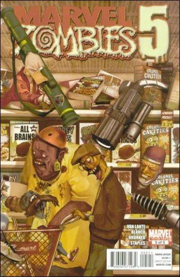MARVEL ZOMBIES 5  #5 NM (2010)