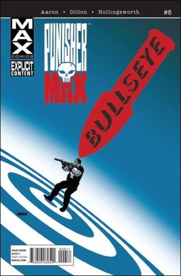 PUNISHERMAX #6 NM (2010) EXPLICIT CONTENT