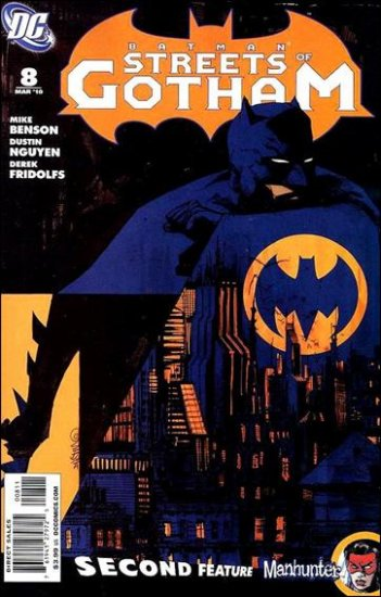 BATMAN STREETS OF GOTHAM #8 VF/NM (2010)