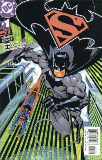 SUPERMAN BATMAN #1 VF/NM BATMAN COVER