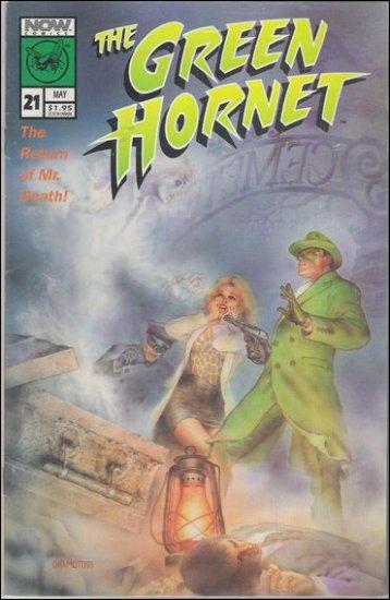 GREEN HORNET #21 VF/NM NOW COMICS VOL 2