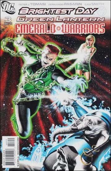 GREEN LANTERN : EMERALD WARRIORS #3 NM *BRIGHTEST DAY*