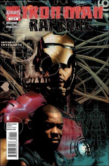IRON MAN RAPTURE #1 NM (2010)