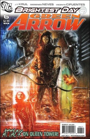 GREEN ARROW #6 (2010) NM *BRIGHTEST DAY*