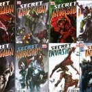 SECRET INVASION COMPLETE SET #1 - 8 NM (2008)