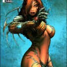 WITCHBLADE #140 B- COVER NM (2010)
