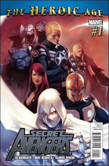 SECRET AVENGERS #1-5  NM (2010)