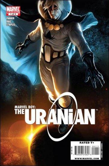 MARVEL BOY: THE URANIAN COMPLETE TRADE SET #1. 2, 3 VF/NM (2010)