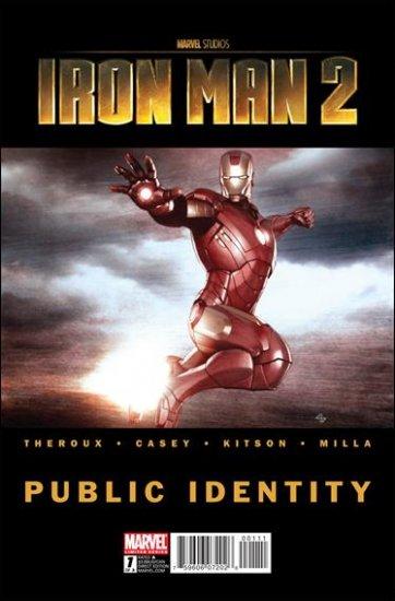 IRON MAN 2: PUBLIC IDENTITY COMPLETE TRADE SET #1, 2, 3 VF/NM (2010)