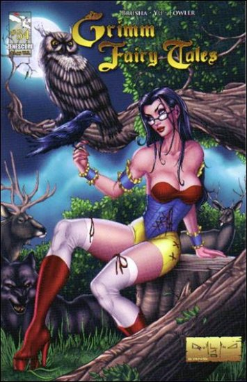 """GRIMM FAIRY TALES #54 NM  """"COVER A"""" *ZENOSCOPE*"""