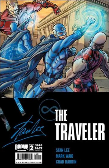 TRAVELER #2 NM (2010)STAN LEE FROM BOOM!