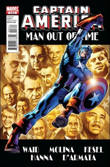 CAPTAIN AMERICA MAN OUT OF TIME #2 NM (2011)