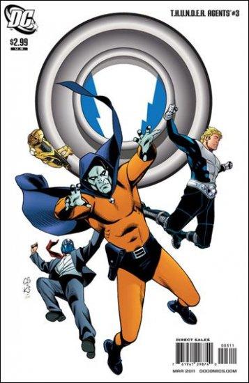 T.H.U.N.D.E.R. AGENTS #3 NM (2011)