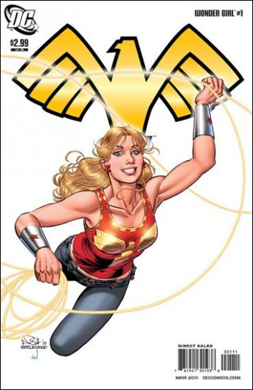 WONDER GIRL #1 NM (2011)