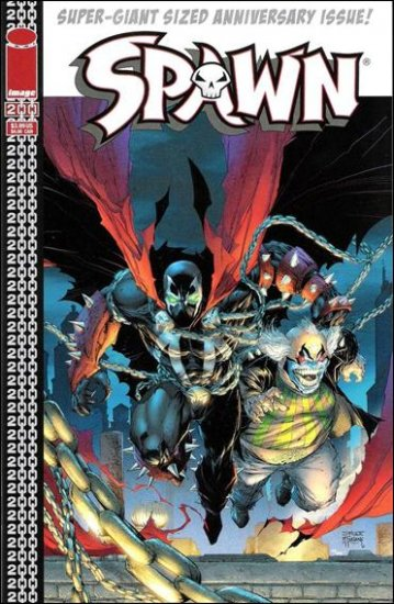 SPAWN #200 VF/NM (2011) COVER C- JIM LEE COVER