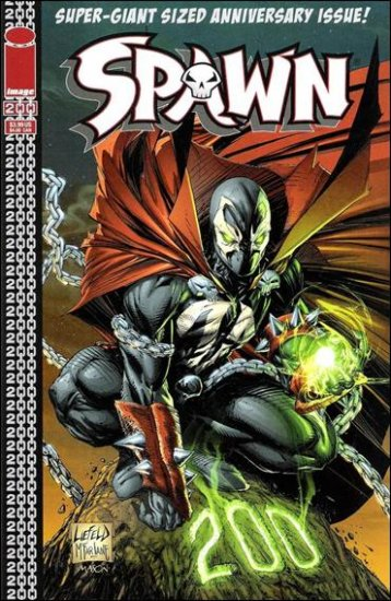 SPAWN #200 VF/NM (2011) COVER D- LIEFELD COVER