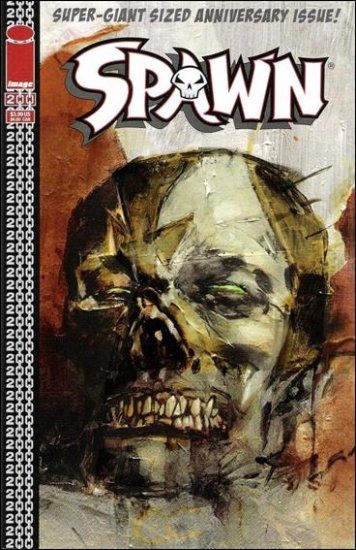 SPAWN #200 VF/NM (2011) COVER F- WOOD COVER