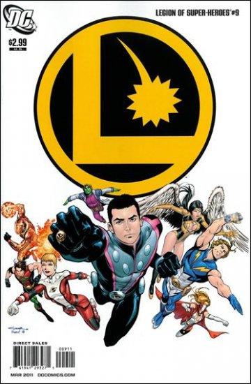 LEGION OF SUPER-HEROES #9 NM (2011)