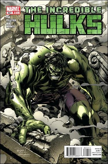 INCREDIBLE HULKS #621 NM (2011)