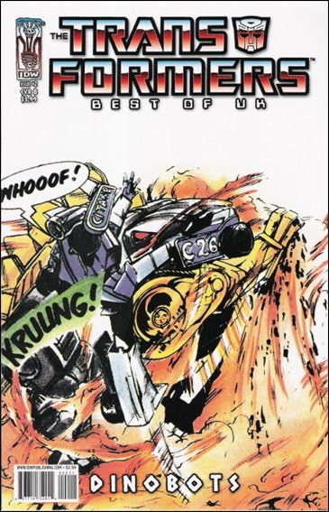"TRANSFORMERS BEST OF THE UK - DINOBOTS #2  ""B"" COVER  VF/NM"