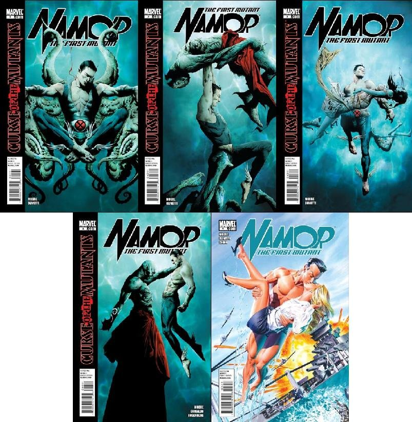 NAMOR: THE FIRST MUTANT #1-5 (2010) NM TRADE SET OF 5 ISSUES