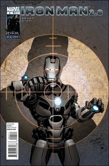 IRON MAN 2.0 #4 NM (2011)