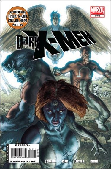 DARK X-MEN #1, 2, 3, 4, 5 (2010) VF/NM *Trade Set*