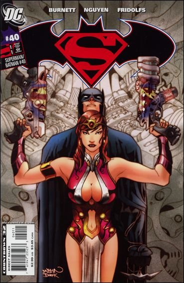 SUPERMAN BATMAN #40 NM (2007)