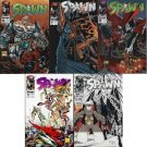 SPAWN COMPLETE SET #6, 7, 8, 9, 10  IMAGE