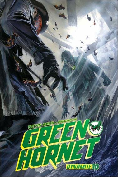 GREEN HORNET #10 NM (2010) COVER A - ALEX ROSS COVER