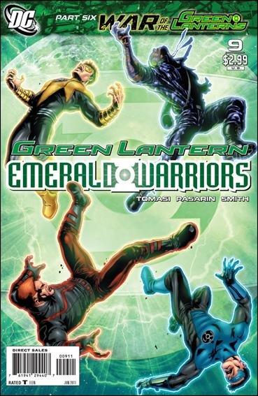 GREEN LANTERN : EMERALD WARRIORS #9 NM(2011)