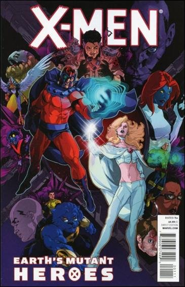 X-MEN EARTH'S MUTANT HEROES ONE-SHOT NM (2011)