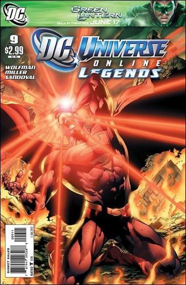 DC UNIVERSE ONLINE LEGENDS #9 NM (2011)