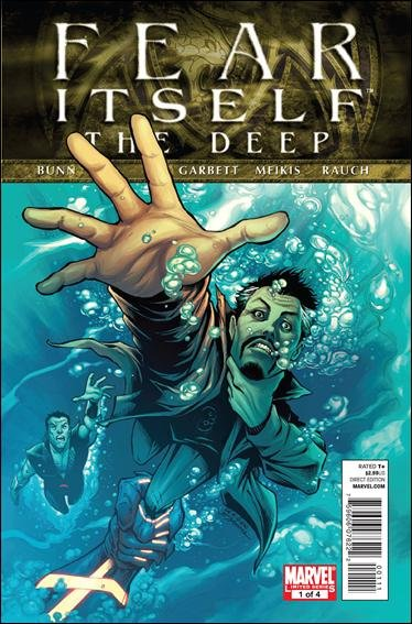 FEAR ITSELF THE DEEP #1 NM (2011)