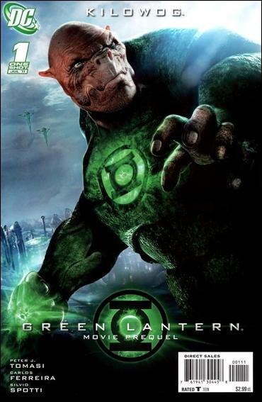 GREEN LANTERN MOVIE PREQUEL KILOWOG #1 NM(2011)