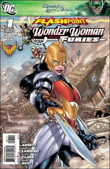 FLASHPOINT WONDER WOMAN AND THE FURIES #1 (2011) NM
