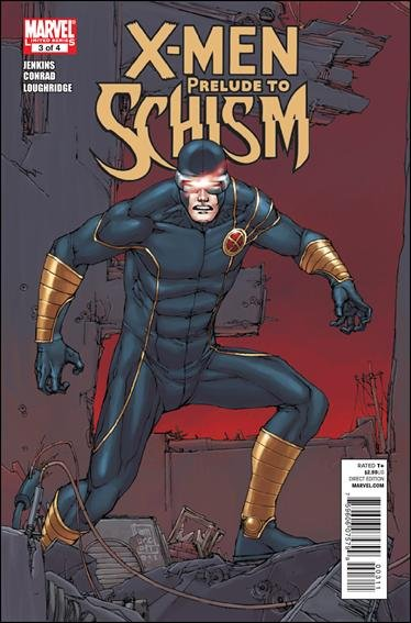 X-MEN PRELUDE TO SCHISM #3 NM (2011)