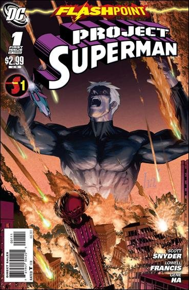FLASHPOINT PROJECT SUPERMAN #1 (2011) NM