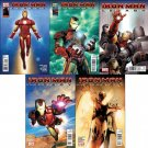 IRON MAN LEGACY #1A, 2, 3, 4, 5 (2010) VF/ NM *Trade Set*
