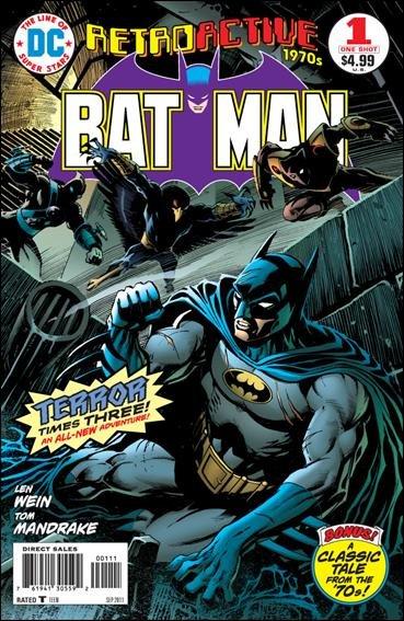 DC RETROACTIVE: BATMAN - THE 70'S #1 NM (2011)
