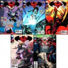 SUPERMAN BATMAN #81, 82, 83, 84, 85 NM (2011) *Trade Set*