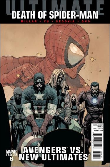ULTIMATE AVENGERS VS NEW ULTIMATES #6 NM (2011) DEATH OF SPIDER-MAN