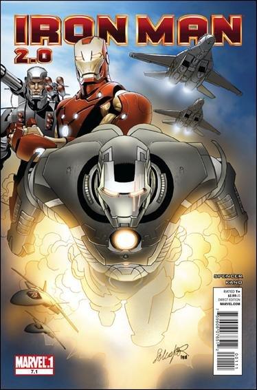 IRON MAN 2.0 #7.1 NM (2011)