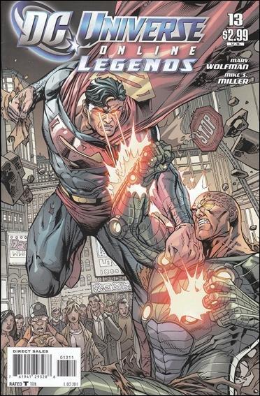 DC UNIVERSE ONLINE LEGENDS #13 NM (2011)