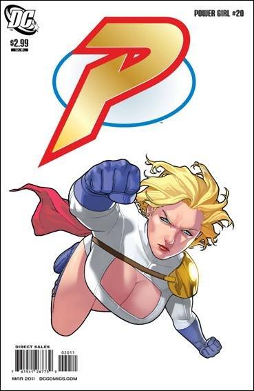 POWER GIRL #20 NM (2011)