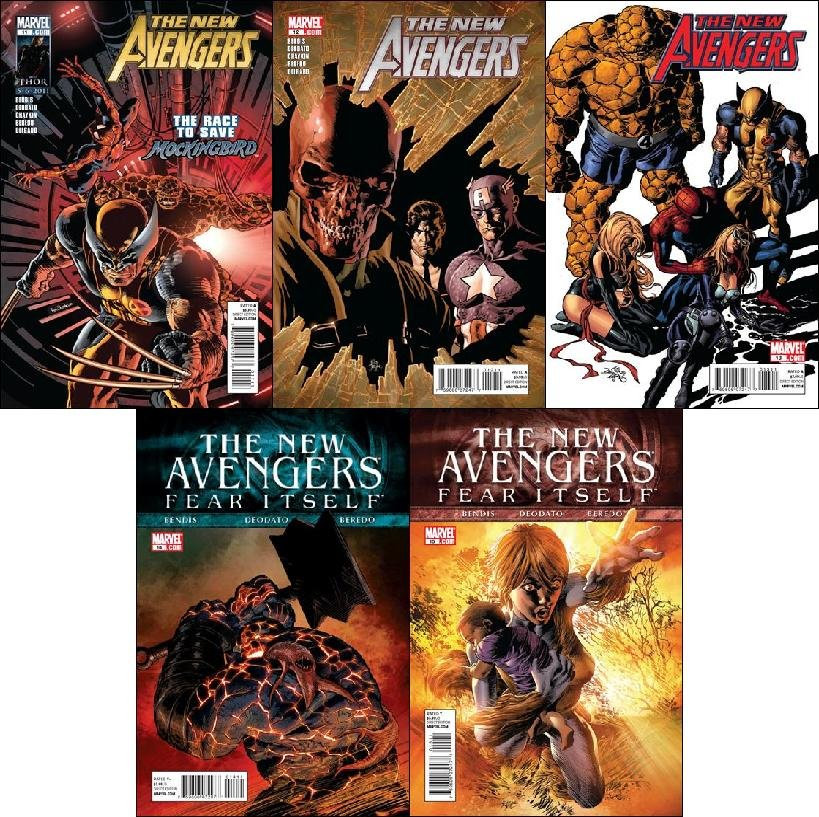 NEW AVENGERS #11 - 15 NM (2011) VOL 2 *COMPLETE SET OF 5 ISSUES*